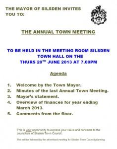 Annual Town Meeting 2013