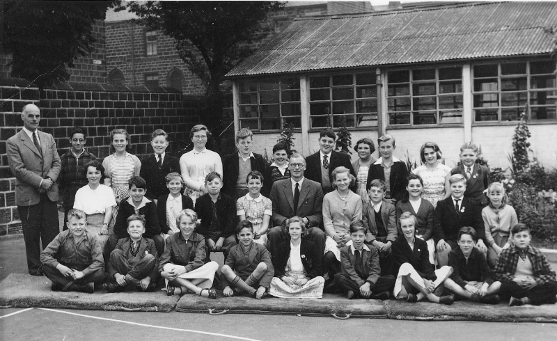 Silsden Secondary School - 1956