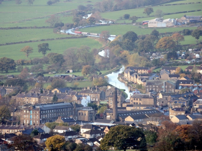 View from Silsden Nabb, picture by Andy Fowler